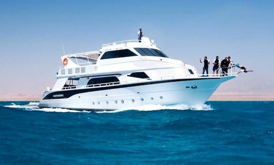 Charter A Motor Yacht In South Sinai Governorate, Egypt