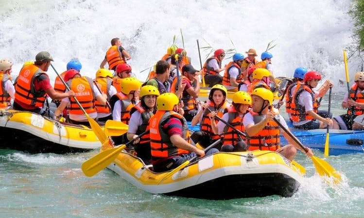 Rafting in Msaytbeh