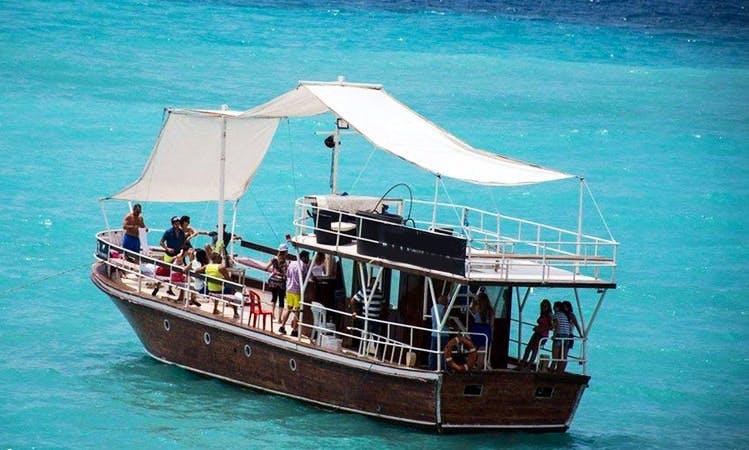 Enjoy Sightseeing in Byblos, Lebanon on 69' Passenger Boat