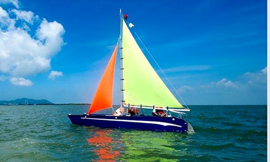 catamaran sailboat for rent in vung tau marina vietnam getmybo