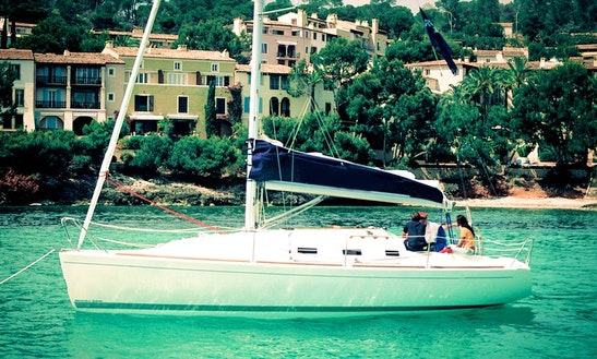 Charter 33' Cruising Monohull In Barcelona, Spain
