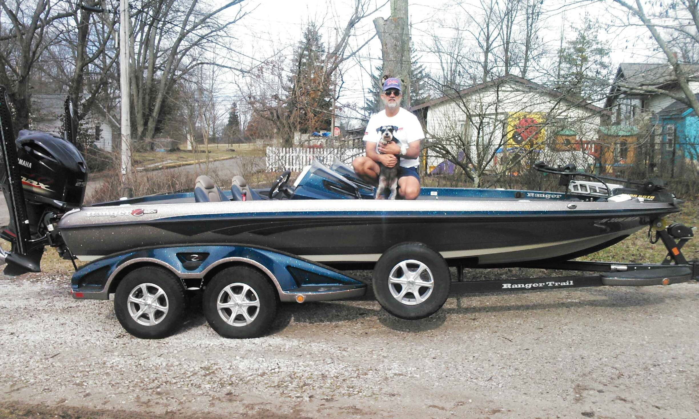 Guided Fishing Trip in Yantis on 20' Ranger 520C Bass Boat with Tim