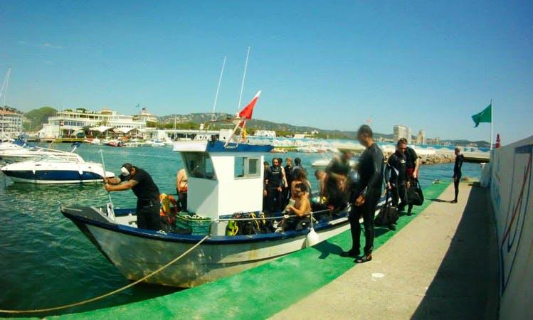 Dive Boat In Platja d'Aro