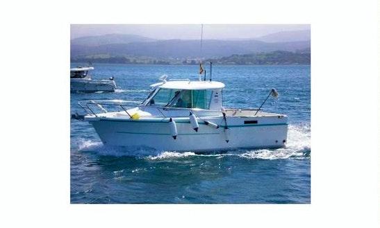 21' Starfisher 625 Head Boat Rental In Mataro, Spain