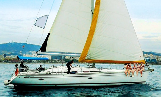Set Sail On A Local Captained Sailboat Charter In Barcelona, Spain