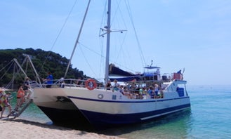 Charter 65' Party Cruising Catamaran In Blanes, Spain