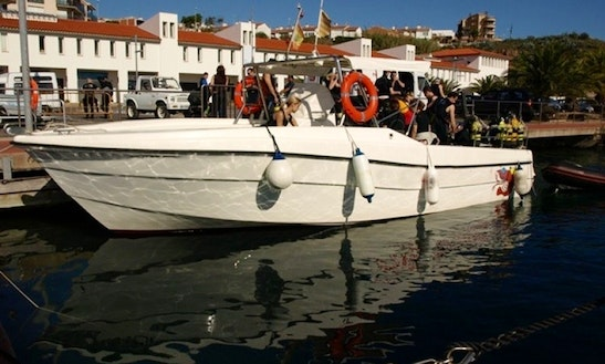 Center Console Diving Charter In Palamós, Spain
