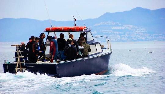 Scuba Dive Boat In L'escala