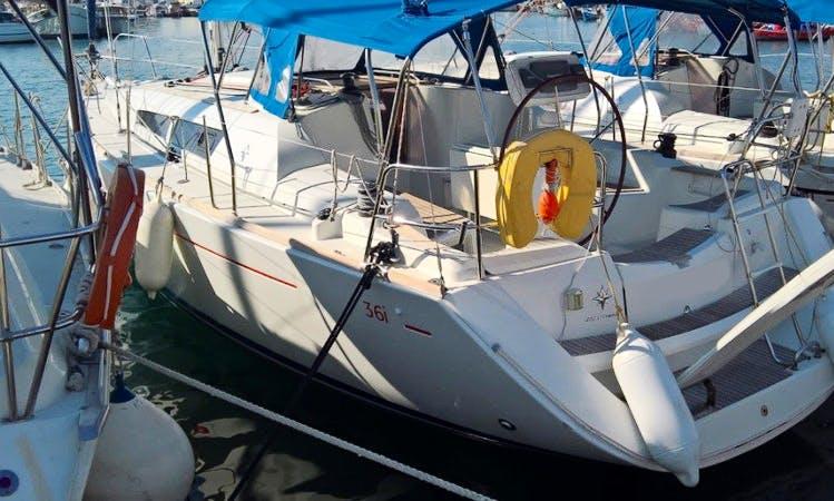 Charter Jeanneau Sun Odyssey 36i Sailing Yacht In Volos, Greece