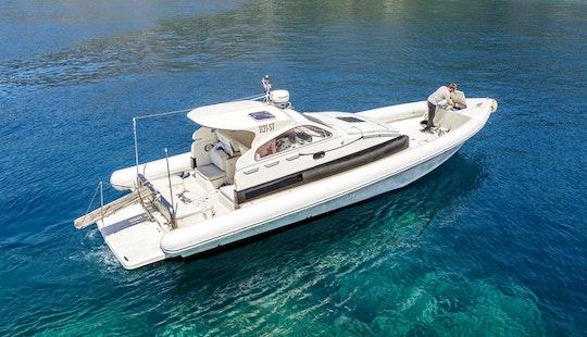 Explore The Islands Of Croatia Aboard A 12 Person Lomac Nautica Rib