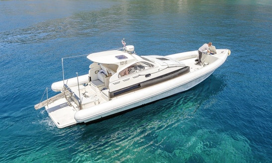 Explore The Islands Of Croatia Aboard A 12 Person Lomac Nautica Rigid Inflatable Boat