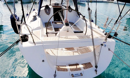 Charter 37' Wild Thing Elan Cruising Monohull In Split, Croatia