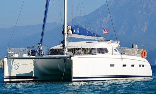 44ft Nautitech Cruising Catamaran Rental In Kaštel Gomilica, Croatia
