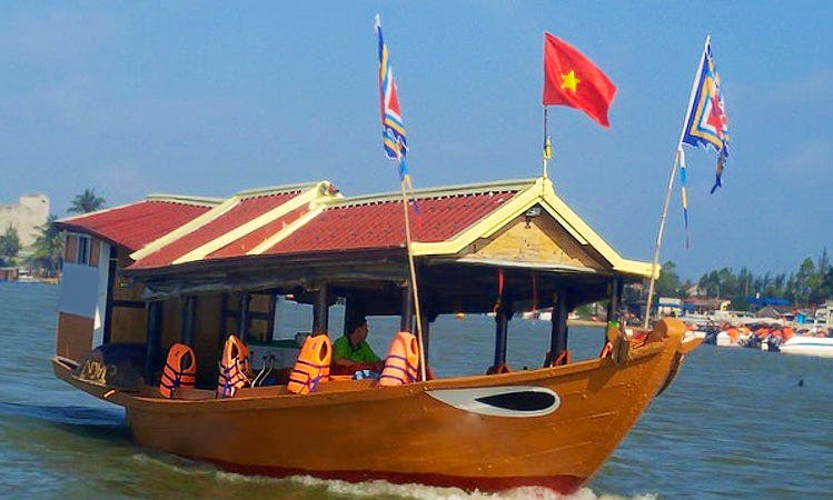 Cruise and Sightsee on a Traditional Boat Charter in Đa Phúc, Vietnam