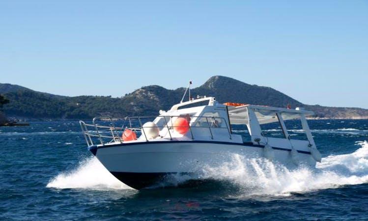 Charter 42' MB Micro Rudar Motor Yacht in Cavtat, Croatia