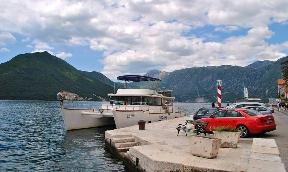 Charter a Power Catamaran in Budva, Montenegro