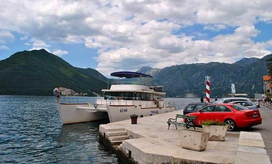 Charter A Power Catamaran In Budva, Montenegro