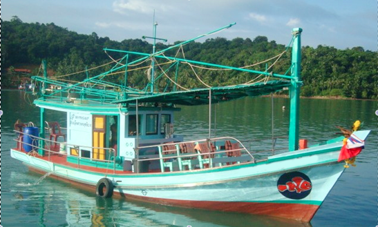 Squid Fishing Charter In Tambon Koh Chang Tai