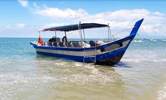 Charter A Longtail Boat In Batu Ferringhi, Malaysia