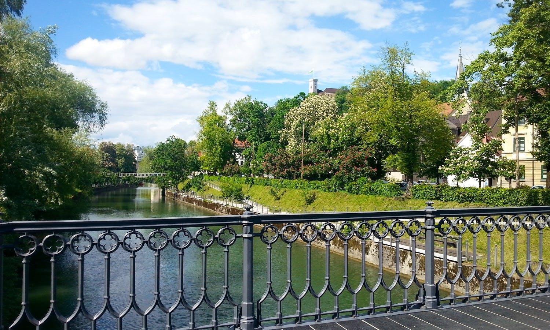 City Tour Ljubljanica river, Slovenia