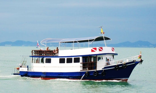Enjoy Mv Saifon Trawler In Muang Pattaya Chang Wat Chon Buri