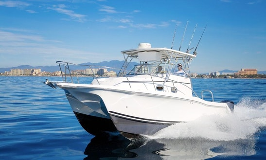 Power Catamaran Fishing Charter In Puerto Vallarta