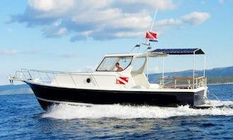 Dive Boat In Croatia