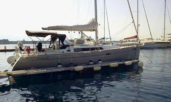 Charter Oceanis 37 Cruising Monohull In Antalya, Turkey
