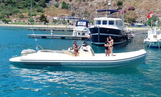 Enjoy A 2 Hour Rigid Inflatable Boat Rental In Cefalù, Italy