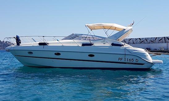 Charter  Cranchi Zaffiro 34 Motor Yacht In Sicily. Italy