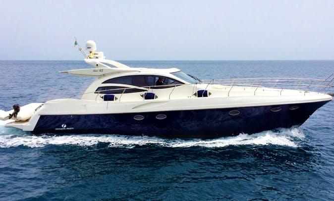 Charter 48' Alena Motor Yacht In Giardini Naxos, Italy