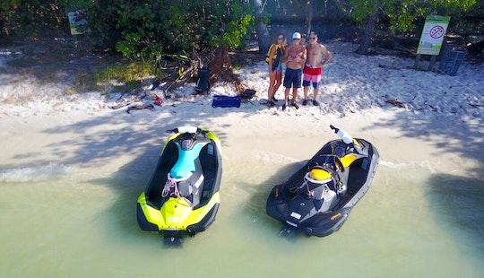 Seadoo Spark Jet Ski Rental In Miami Beach, Florida