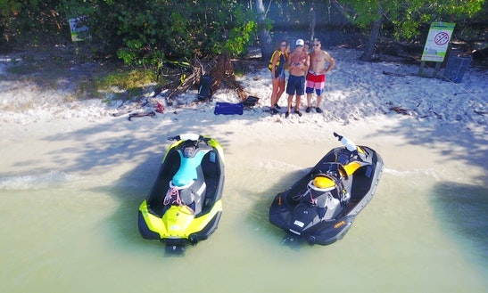 Seadoo Spark Jet Ski Rental In Miami Beach, Florida