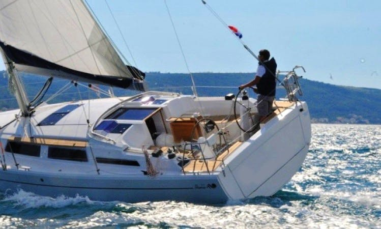 Hanse 345 Sailboat Charter in Croatia