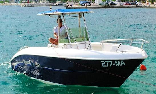 Motor Boat Rental In Podgora