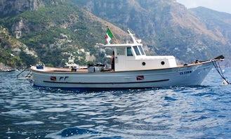 Diving Cabin Boat Charter in Praiano Salerno