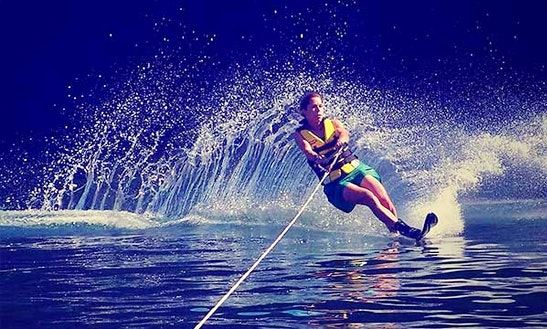 Enjoy Waterskiing In Dunmore Town, Bahamas