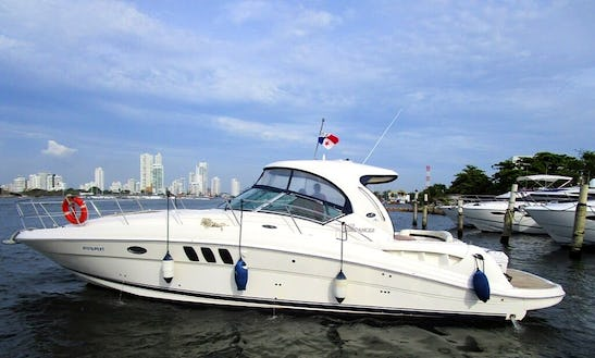 Sea Ray Sundancer 40' Motor Yacht In Cartagena, Colombia