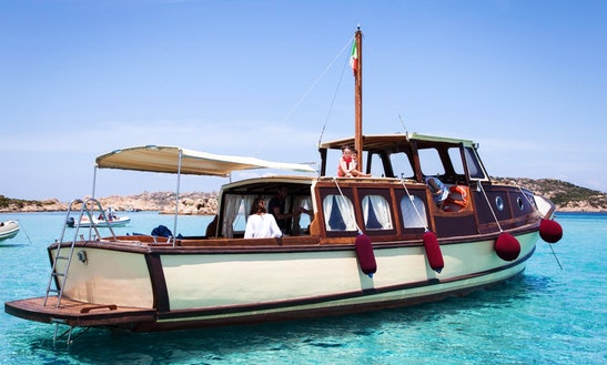 Passenger Boat Trips In La Maddalena, Italy