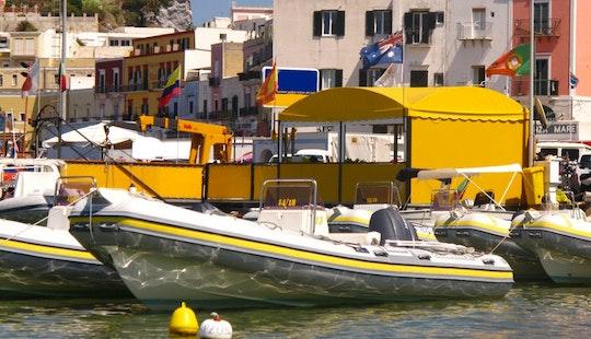 Joker Clubman 21 Boat Rental In Ponza
