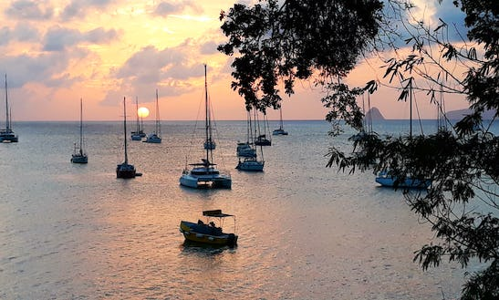 Relax And Enjoy The Real Life On A Sailboat...martinique!