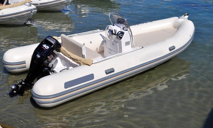 Valiant 550 Classic Boat Rental in Ponza