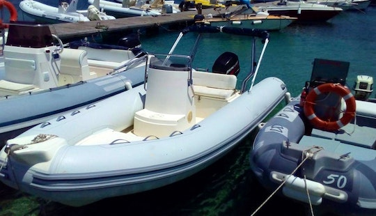 Rent 18' Arimar Rigid Inflatable Boat In San Vito Lo Capo, Sicilia