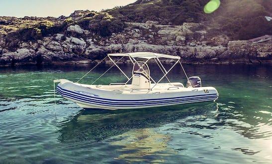 Rent Zodiac Medline 550 Rigid Inflatable Boat In Alghero, Sardegna