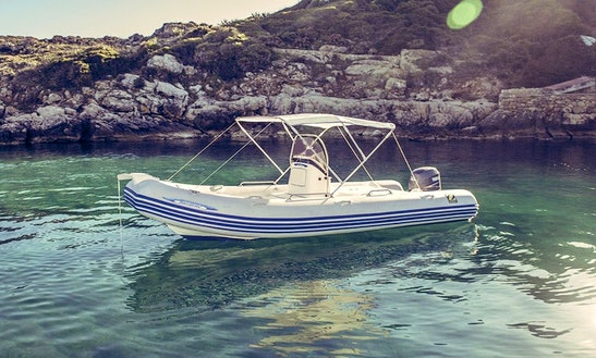 Rent Zodiac Medline 550 Rigid Inflatable Boat In Alghero, Sardegna
