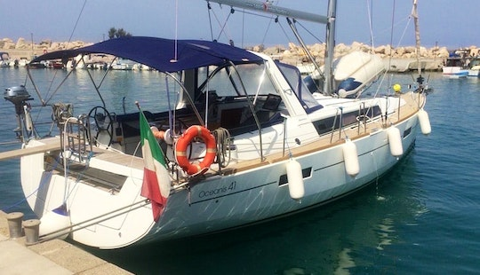 Sailing Yacht Charter Oceanis 41