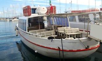"""""""M / N Punta Giglio"""" Motorboat Trips in Alghero"""