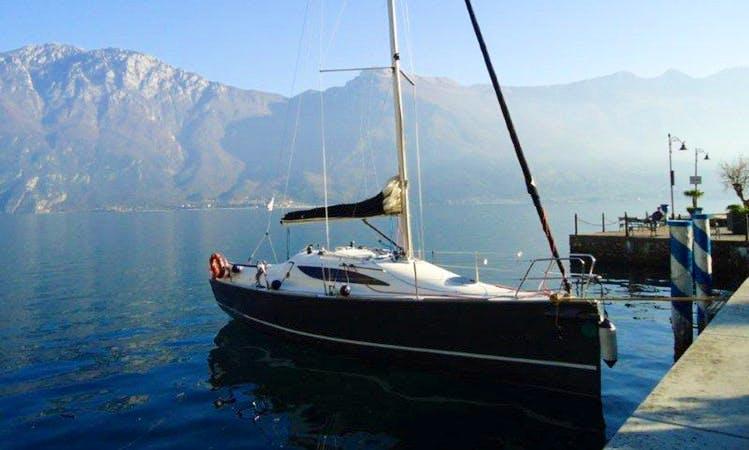 Cruising Monohull rental in Navene - Malcesine Garda Lake ITALY