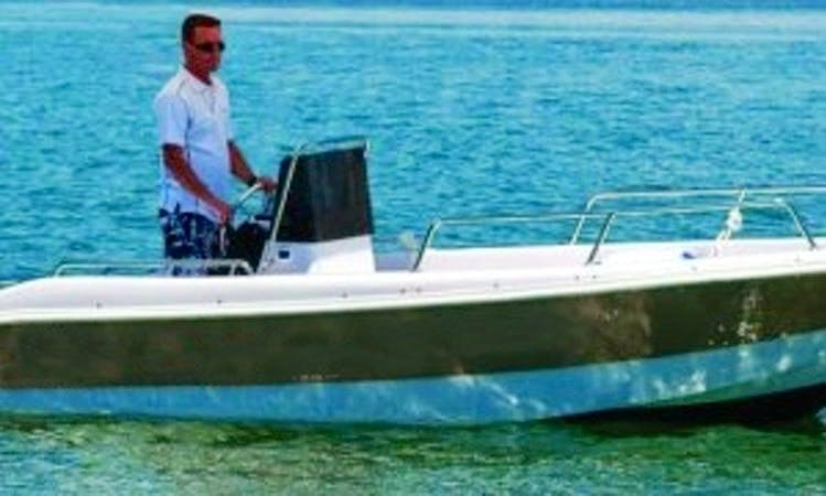 Rent 16' Seacode Powerboat in Brussa, Italy