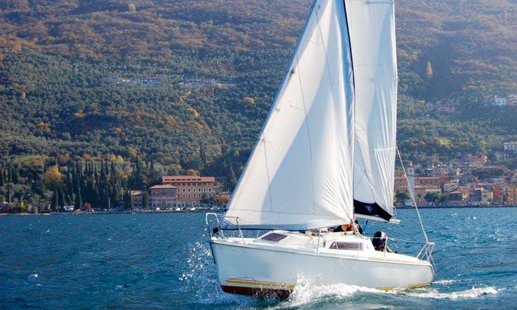 Cruising Monohull Rental in Brenzone